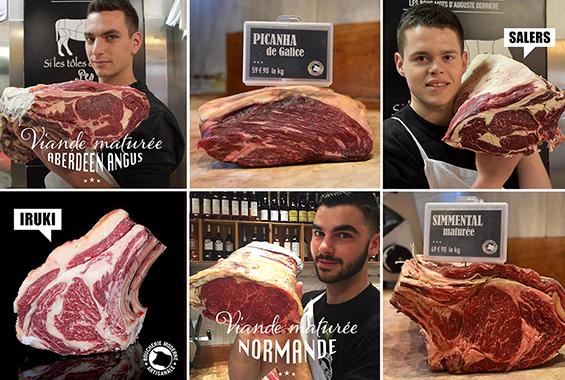 Chambre De Vieillissement Pour La Viande : Le bœuf maturé boucherie moderne paris