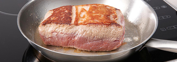Griller une viande