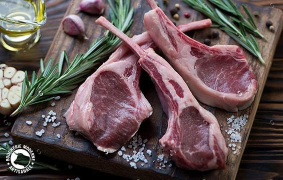 Comment cuire des c telettes d 39 agneau - Comment cuisiner le collier d agneau ...