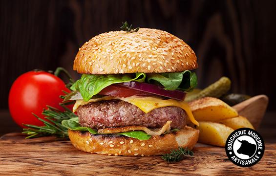 le meilleur burger boucherie moderne