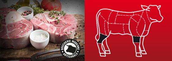 Recette Osso Buco de veau de la Boucherie Moderne