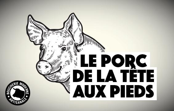 Le porc de la tête aux pieds
