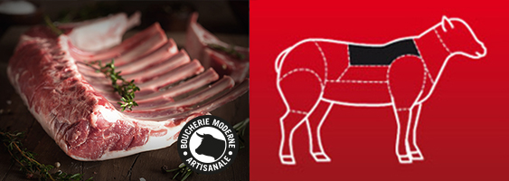 Recette Carré d'agneau de la Boucherie Moderne