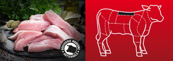 Recette Blanquette de veau express de la Boucherie Moderne